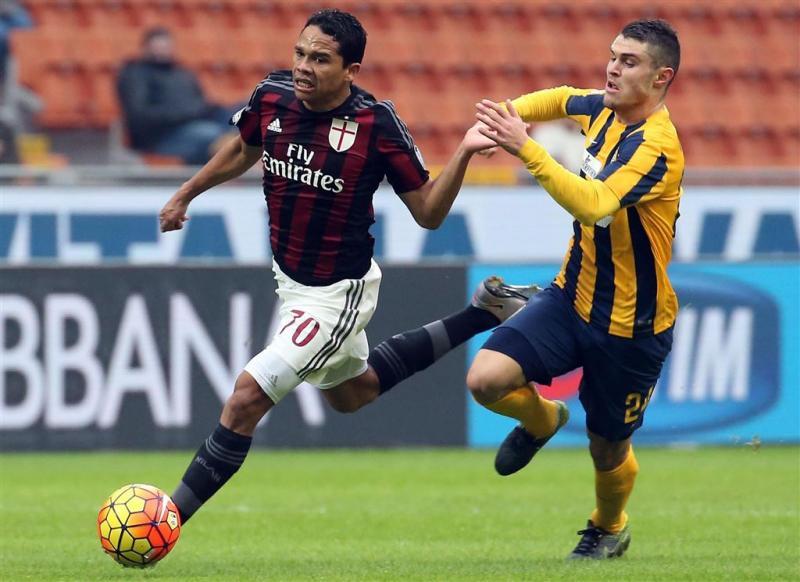 Rode kaart De Jong kost Milan punten