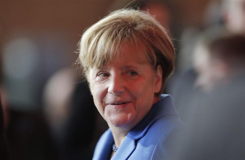 Merkel belooft lagere instroom vluchtelingen
