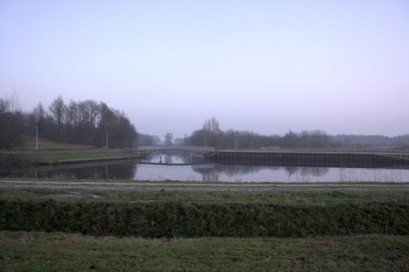 Grauwe lucht in Assen (Foto: Bondage)