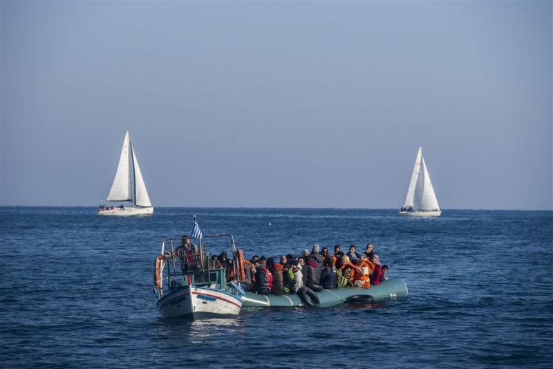 Ruim 1,5 miljoen migranten naar EU