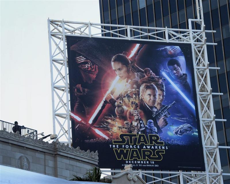 Enorme drukte rond première Star Wars