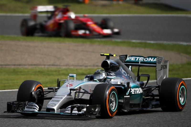 Motordata Mercedes niet bij Ferrari beland