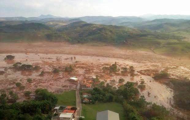 Water Brazilië veilig na ramp ijzerertsmijn