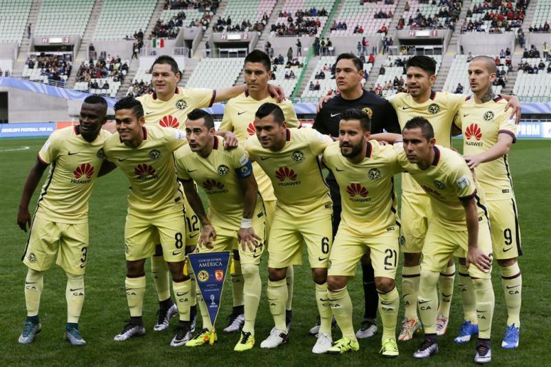 Mexicaanse América vijfde op WK clubteams