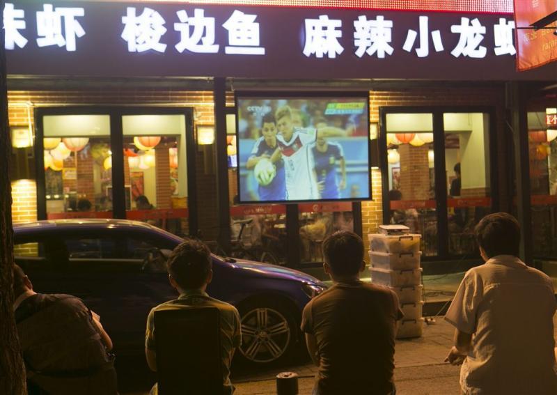 Miljard zagen finale WK voetbal op tv