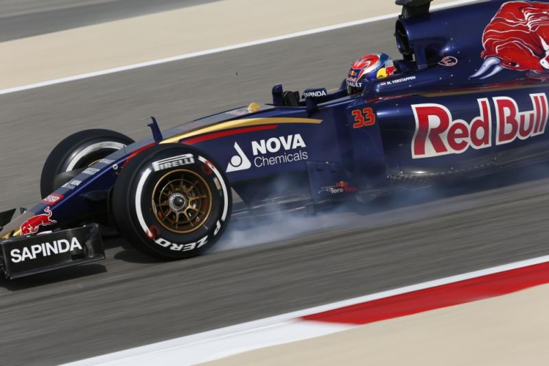 Verstappen in actie in Bahrein (Pro Shots / Zuma Sports Wire)