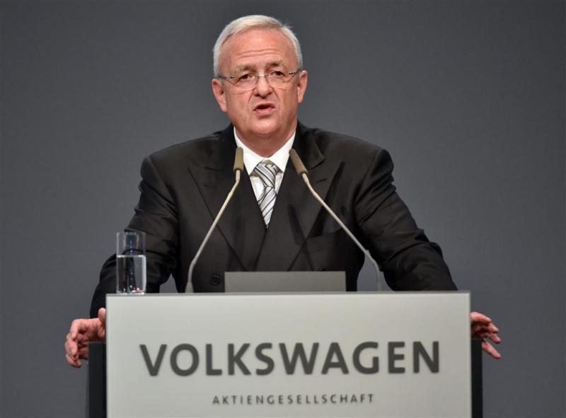 'Winterkorn nog altijd op de loonlijst VW'