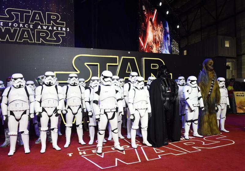 Recordopbrengst Star Wars