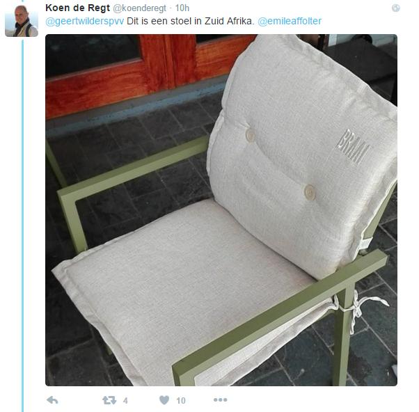 Dit is een stoel