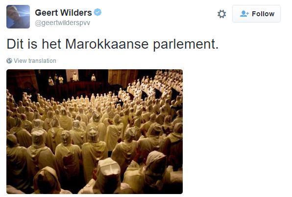 dit is het marokkaanse parlement
