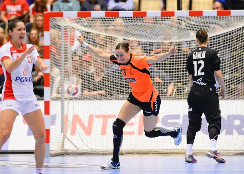 Handbalsters in finale tegen Noorwegen