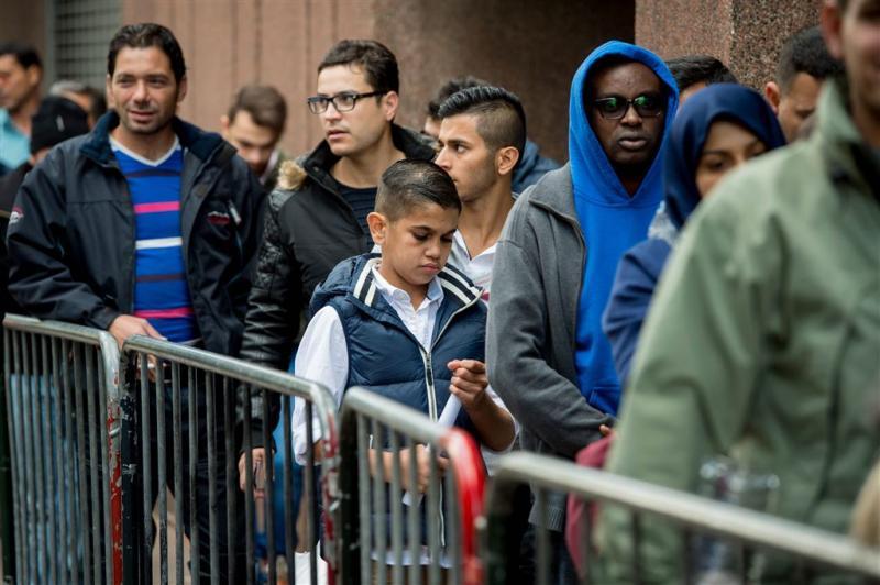 Vluchtelingen niet langer permanent in België