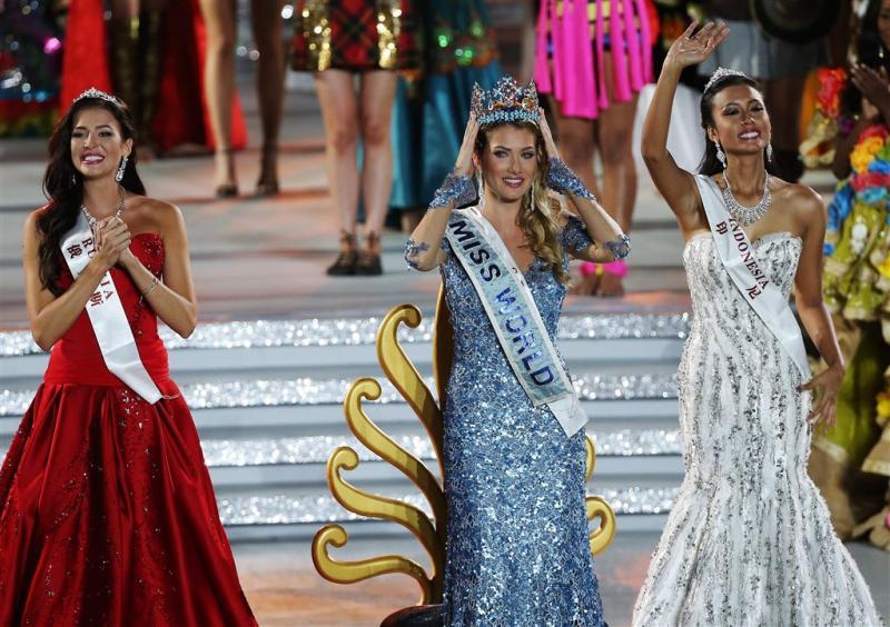 Spaanse Mireia wint Miss World