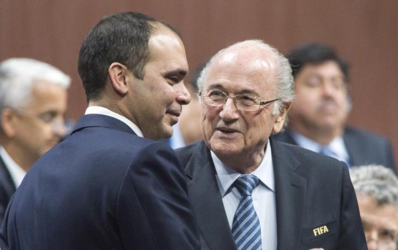 Blatter en prins Ali (Pro Shots / Zuma Sports Wire)