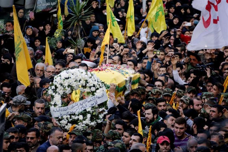 Hezbollah zweert wraak op Israël na dood lid