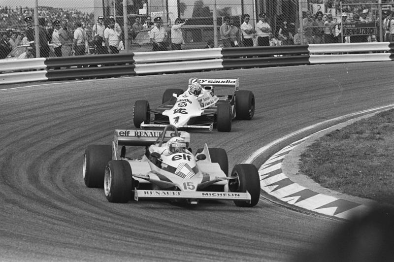 Prost in 1981 voor Renault actief op Zandvoort (WikiCommons/Dijk, Hans van / Anefo