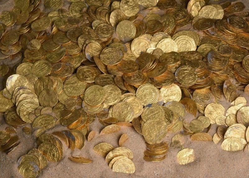 Goudschat gevonden in Chinees graf