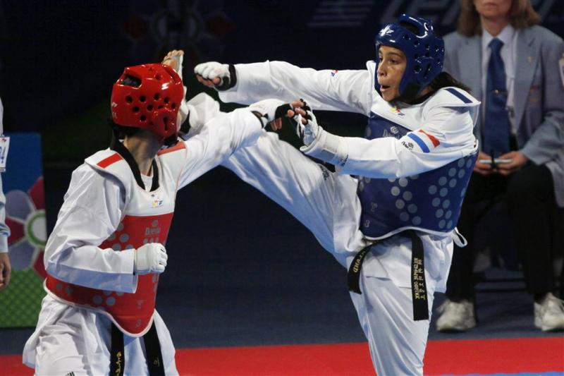 Vier taekwondoka's op jacht naar ticket Rio