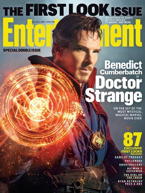 Benedict Cumberbatch als Doctor Strange (Foto: Entertainment Weekly)