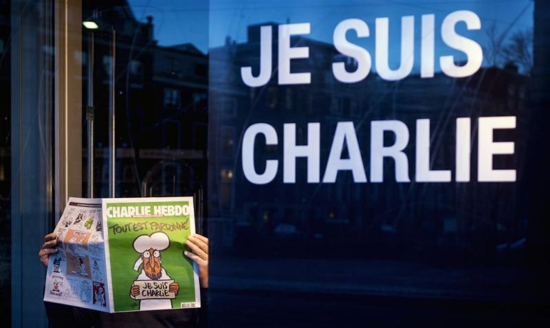 God op de omslag van Charlie Hebdo