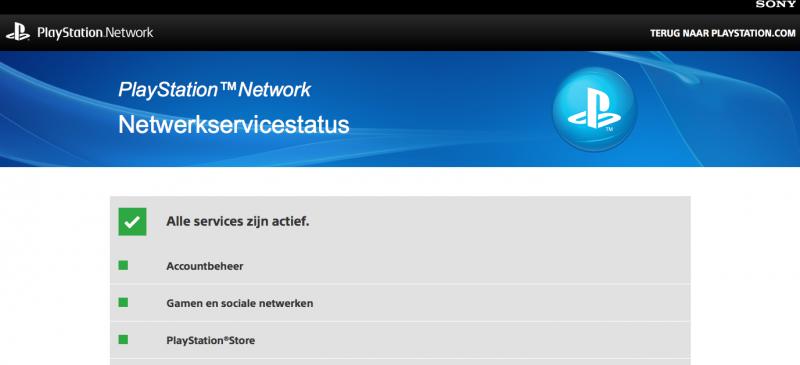 PSN Status (Foto: Pheno)