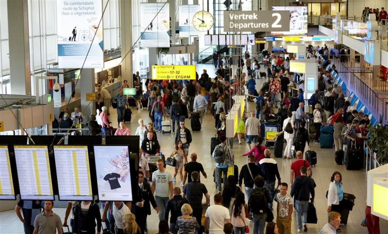 Schiphol verwelkomt recordaantal passagiers