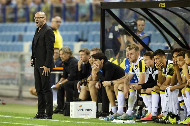 Trainer Bosz weg bij Vitesse