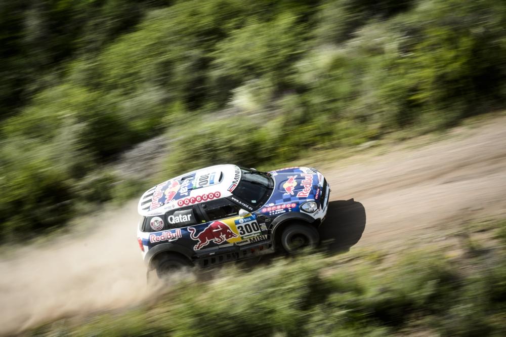 Loeb wint ook derde etappe Dakar (Pro Shots / Dppi)
