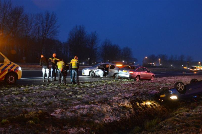 Code rood voor Noord-Nederland om ijzel