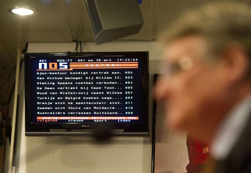 Belgische omroep VRT stopt met teletekst