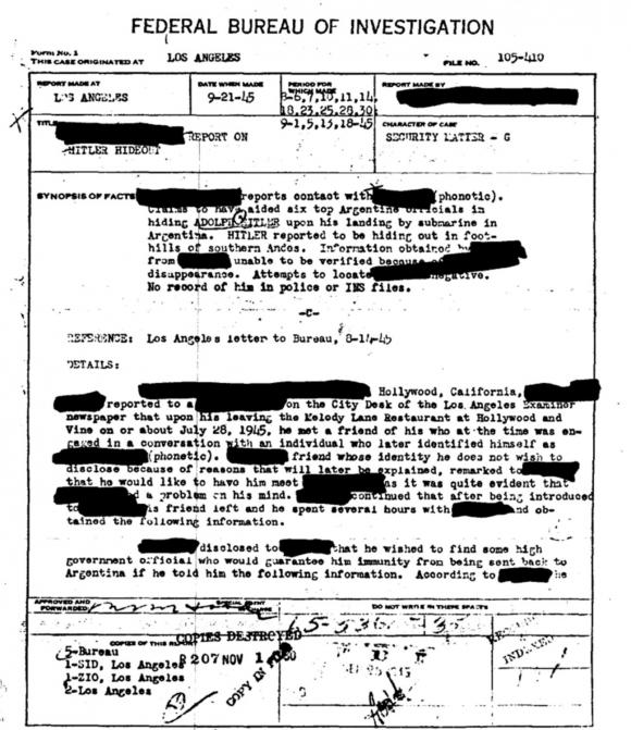 Hitlers document