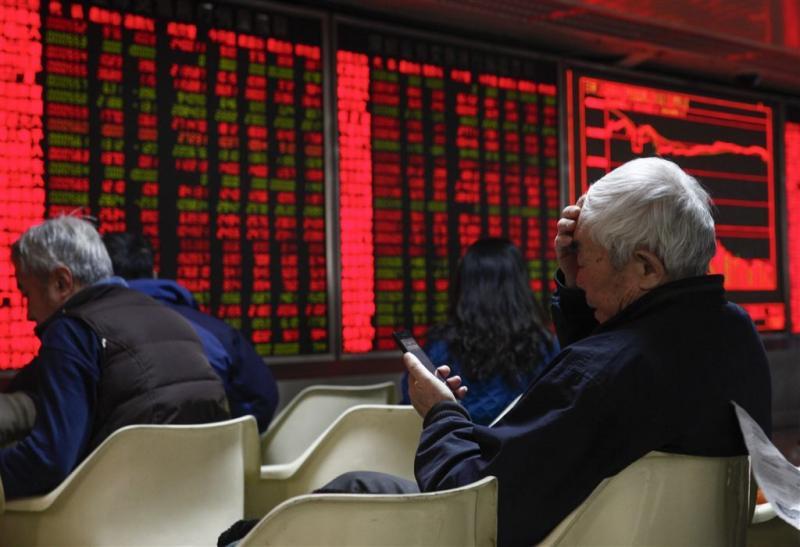 Beurzen China verwerken aanpassing regels