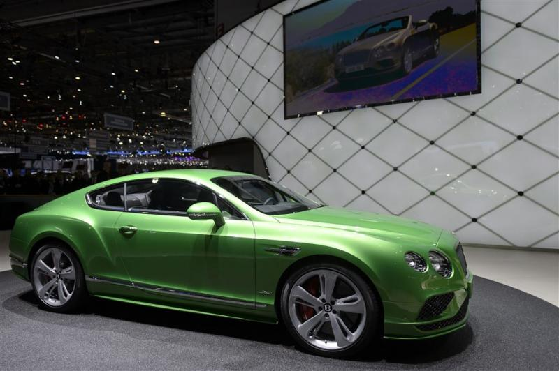 Bentley minder populair
