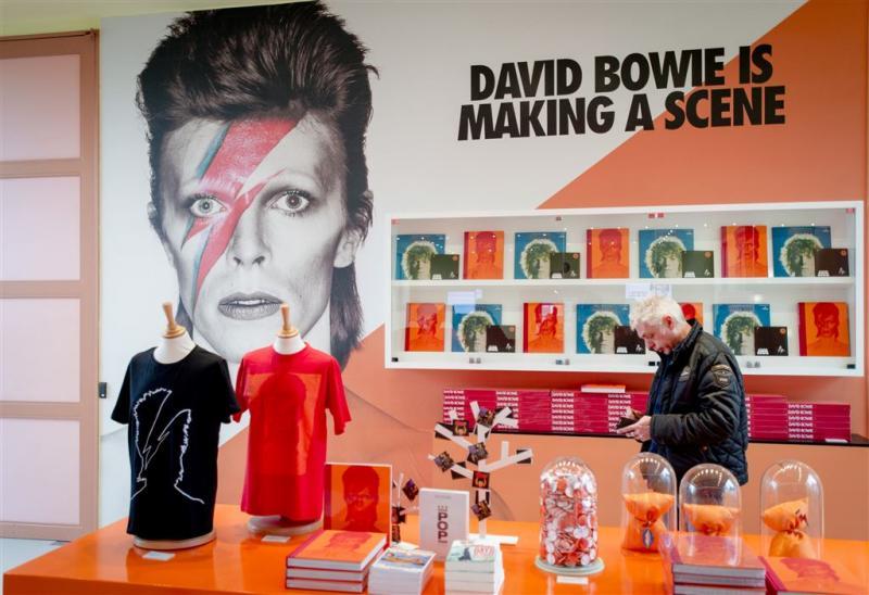 Run op tickets voor Bowie-expo in Groningen
