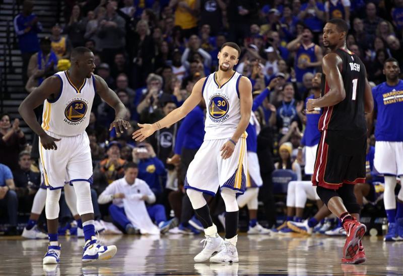 Ook Heat kan Warriors niet afstoppen