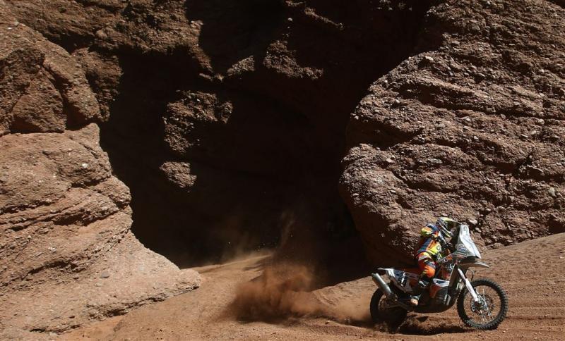 Etappe Dakar Rally ingekort vanwege hitte