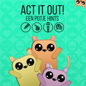 ACT IT OUT! - Een potje hints - packshot NL