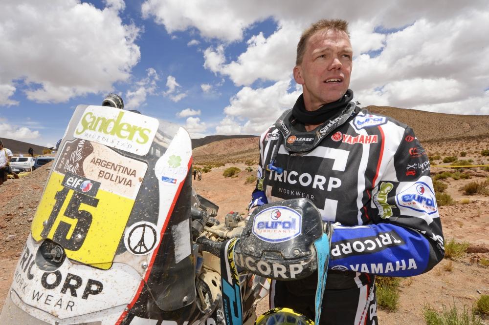 Verhoeven behaalde in etappe 10 zijn beste resultaat van de rally (Pro Shots / Dppi)