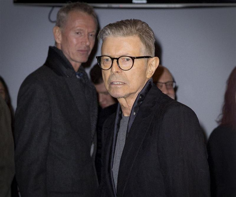 Afscheid David Bowie in besloten kring