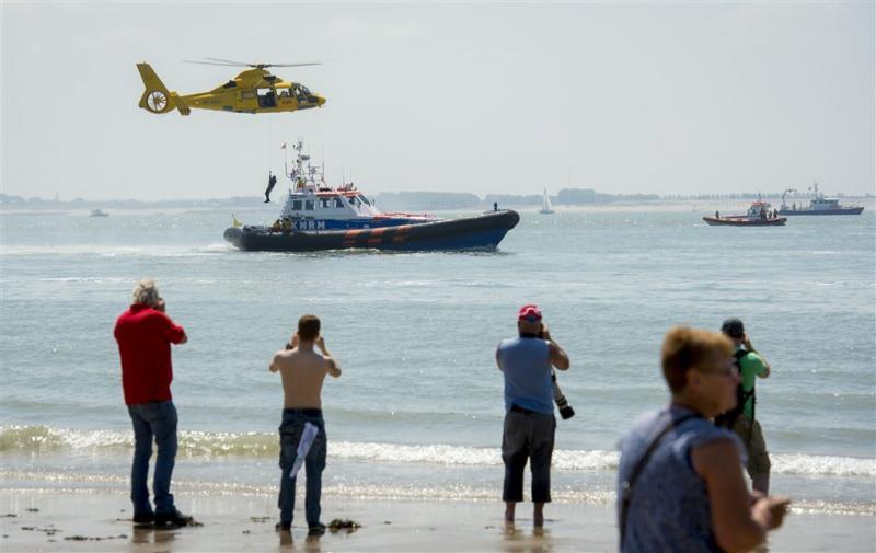 KNRM redde of hielp vorig jaar 3630 mensen