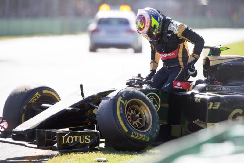 Positie Maldonado onder druk bij Renault (Pro Shots / Zuma Sports Wire)