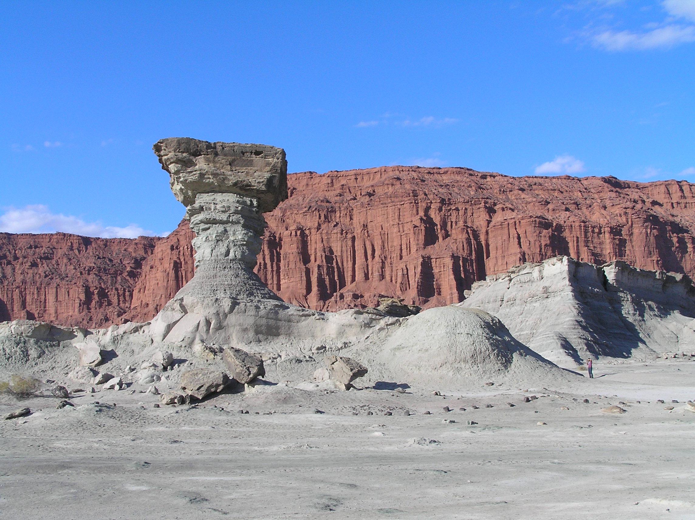 Interessante rotsformatie net buiten San Juan (WikiCommons / M.Bustos)