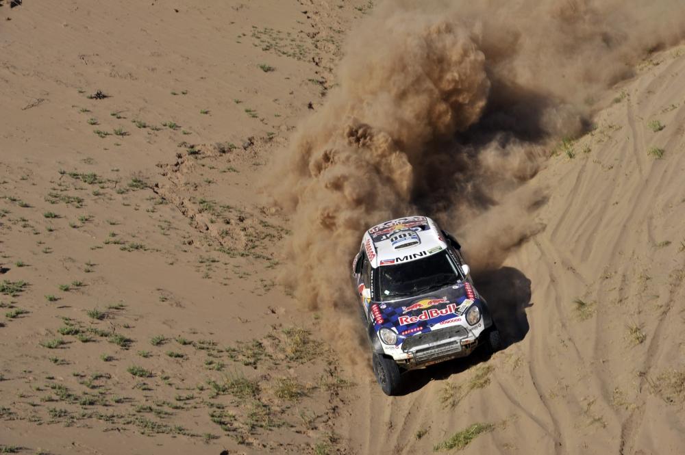 Al-Attiyah verslaagt Peugeots in elfde Dakar-etappe (Pro Shots / Dppi)