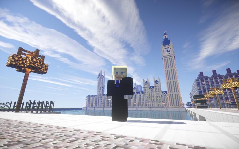Minecraft-equivalent van Londens burgemeester Boris Johnson