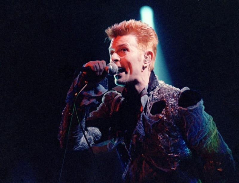 Bowie sloeg samenwerking met Coldplay af