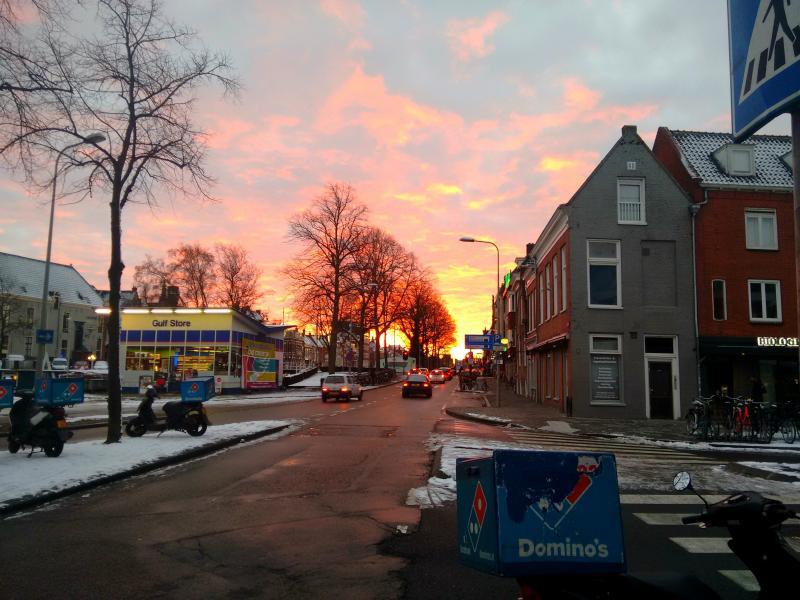 Prachtige lucht in Groningen (Foto: erkendfokker)