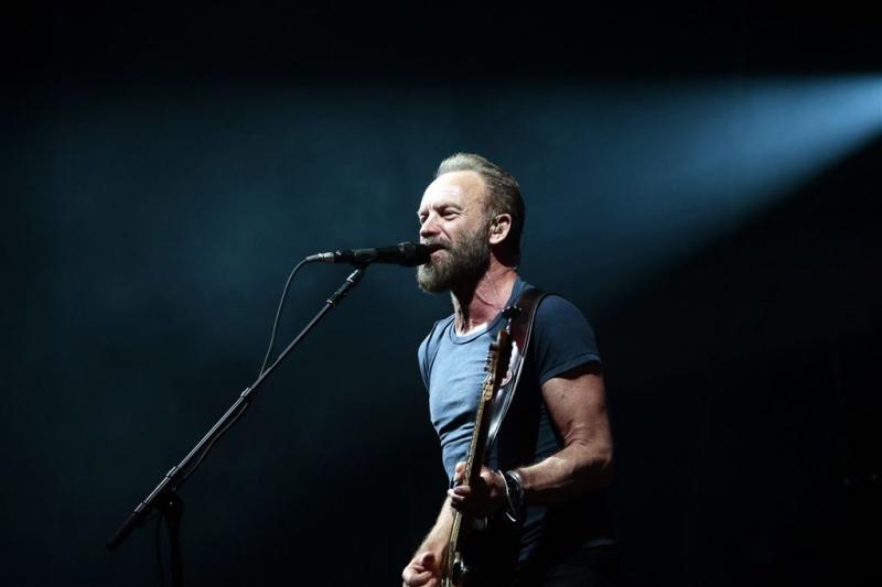 Sting samen met Peter Gabriel op tournee