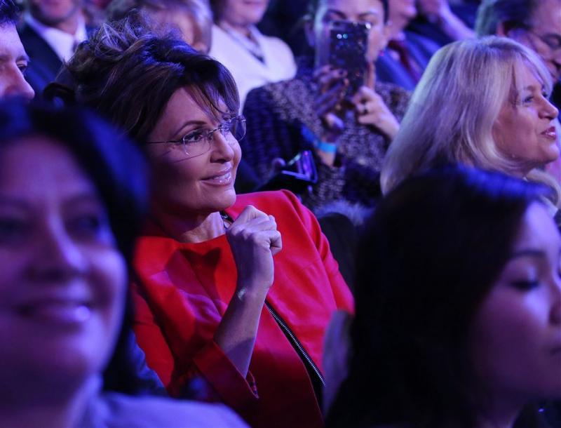 Sarah Palin steunt Trump in verkiezingen VS