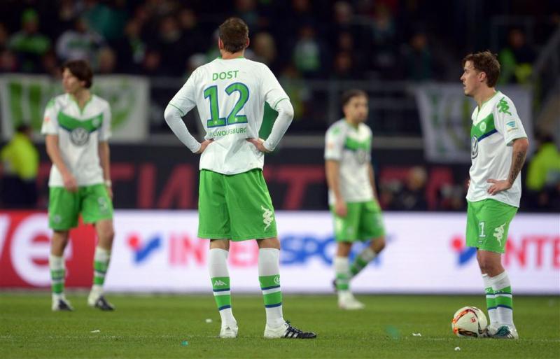 Dost langer uitgeschakeld bij Wolfsburg