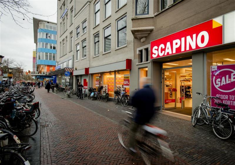 Ziengs meldt zich voor winkels Scapino
